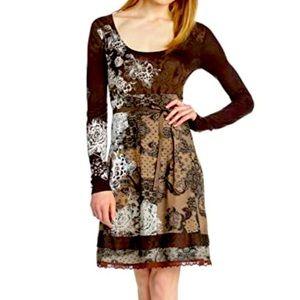 Desigual Brown Dress